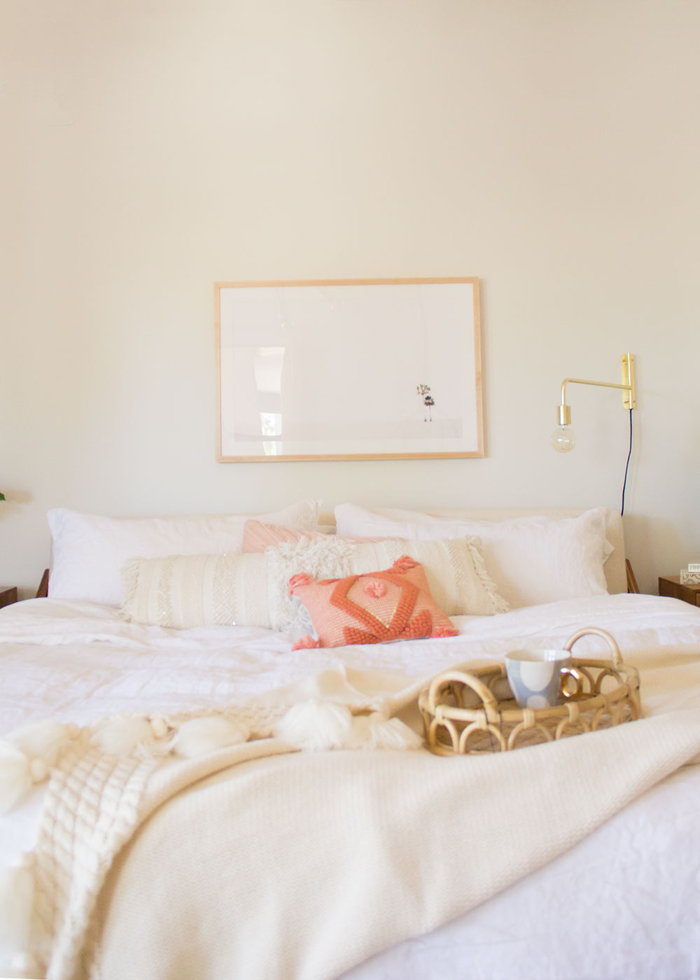 the prettiest modern french linen duvet set by olive & wren home | thelovedesignedlife.com #linenbedding #oliveandwren