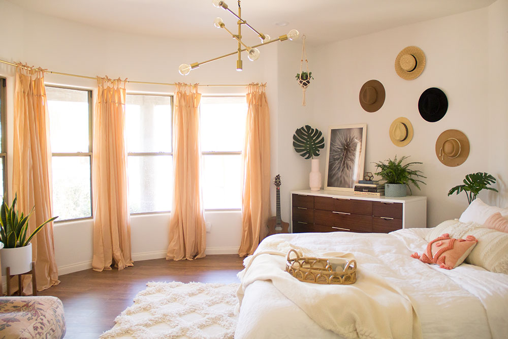 master bedroom reveal | thelovedesignedlife.com #boho #masterbedroom #homedecor