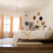 the ldl home: master bedroom reveal is on the blog!   thelovedesignedlife.com #masterbedroom #bohovibes