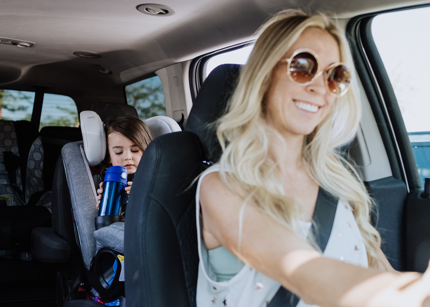 headed out for an everyday adventure with my little man in his new Maxi-Cosi 5-in-one carseat | thelovedesignedlife.com #momlife #backseatride #carseat