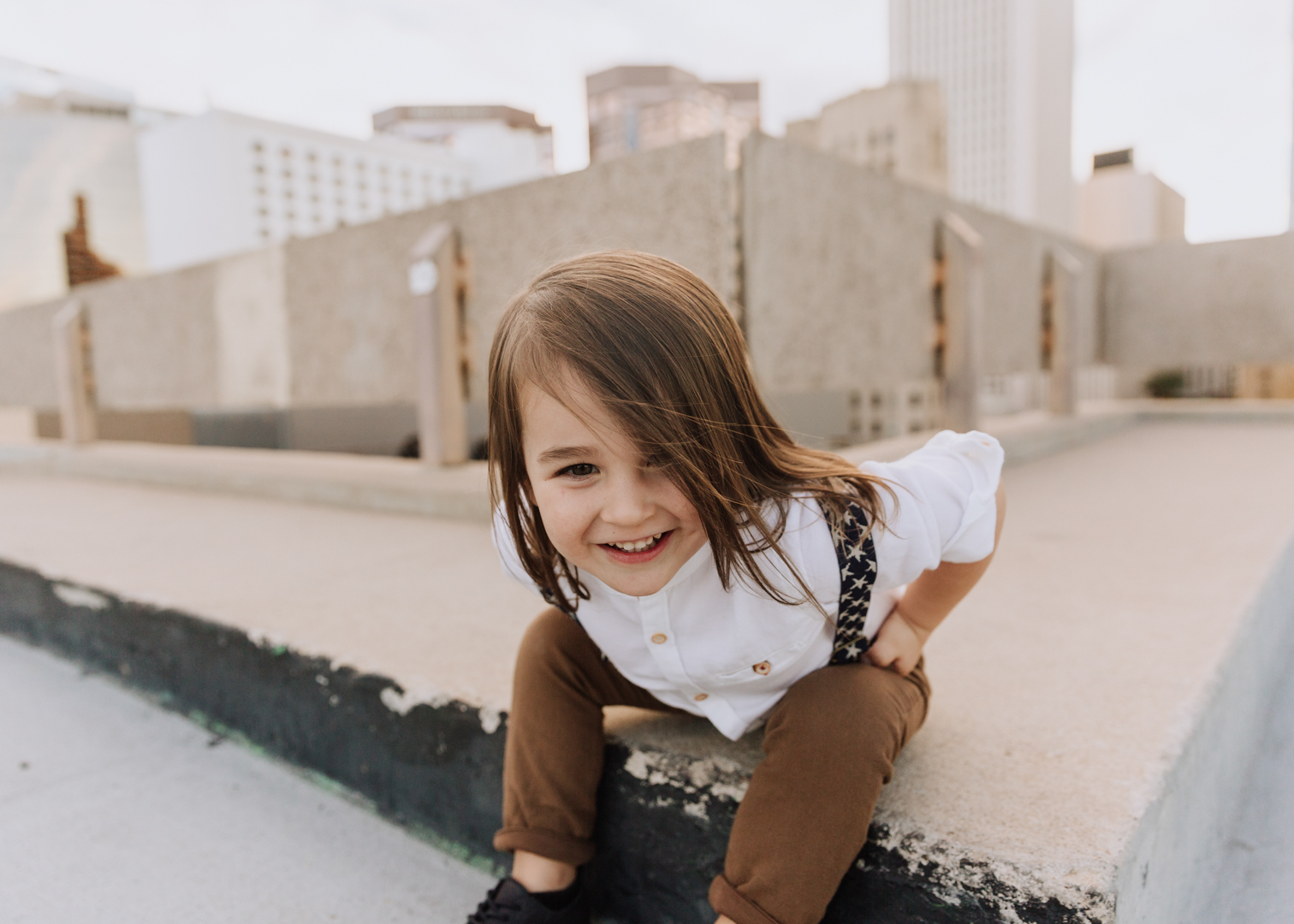 love this long haired boy! | thelovedesignedlife.com #longhairedboy #familyphotos #photography