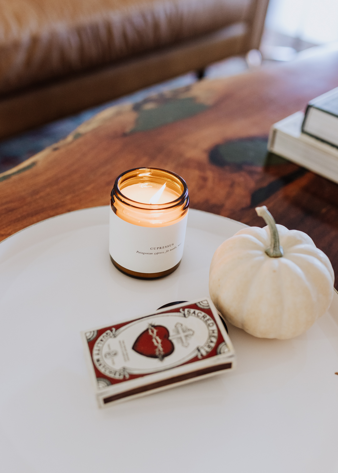 the best candles from barratt riley & co for the holidays and beyond | thelovedesignedlife.com #candles #holidays #pumpkinspicce