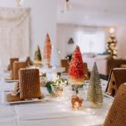 a peek inside our gingerbread house decorating party