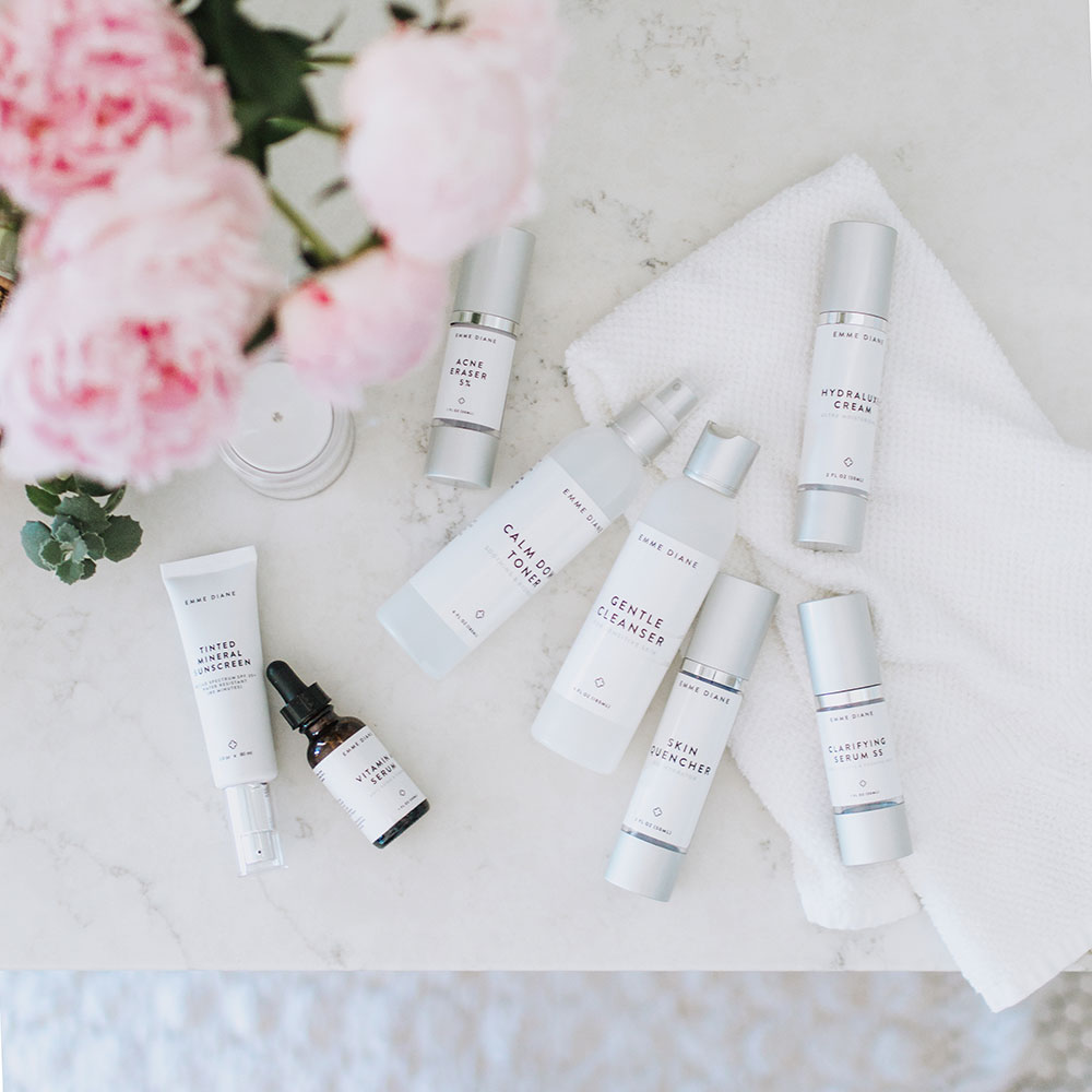 the best skincare products in all the land, bu Emme Diane | thelovedesignedlife.com #skincare #skingoals #healthyskin
