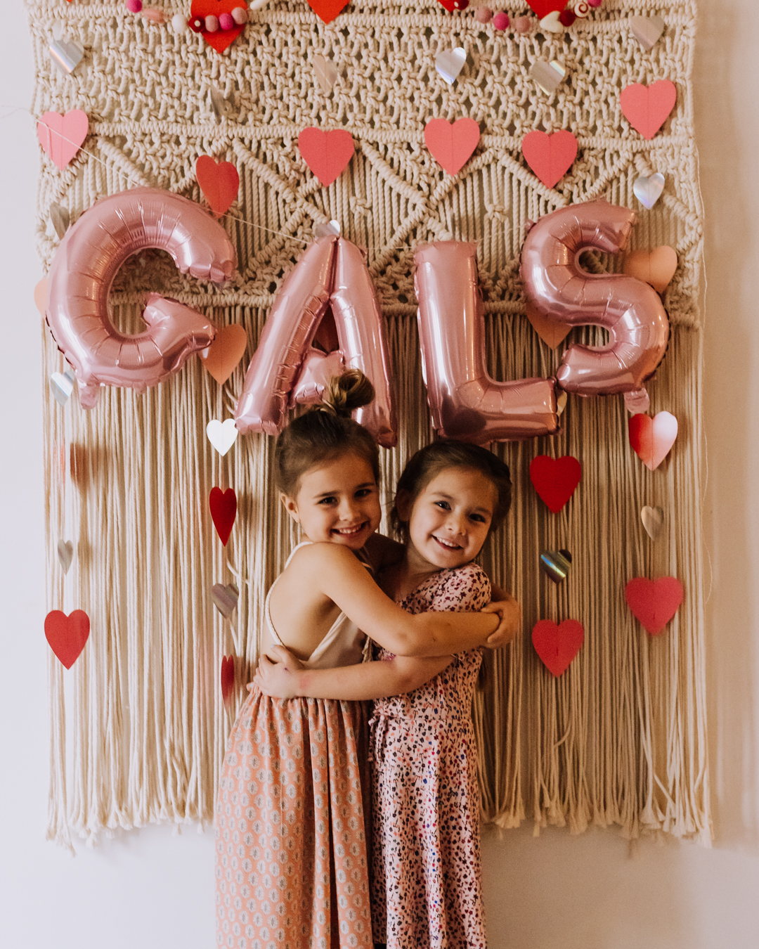 love these gal pals for our valentine's day party | thelovedesignedlife.com #galentinesday #valentinesparty #heartday