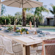 sharing our complete backyard and new furniture from article | thelovedesignedlife.com #ourArticle