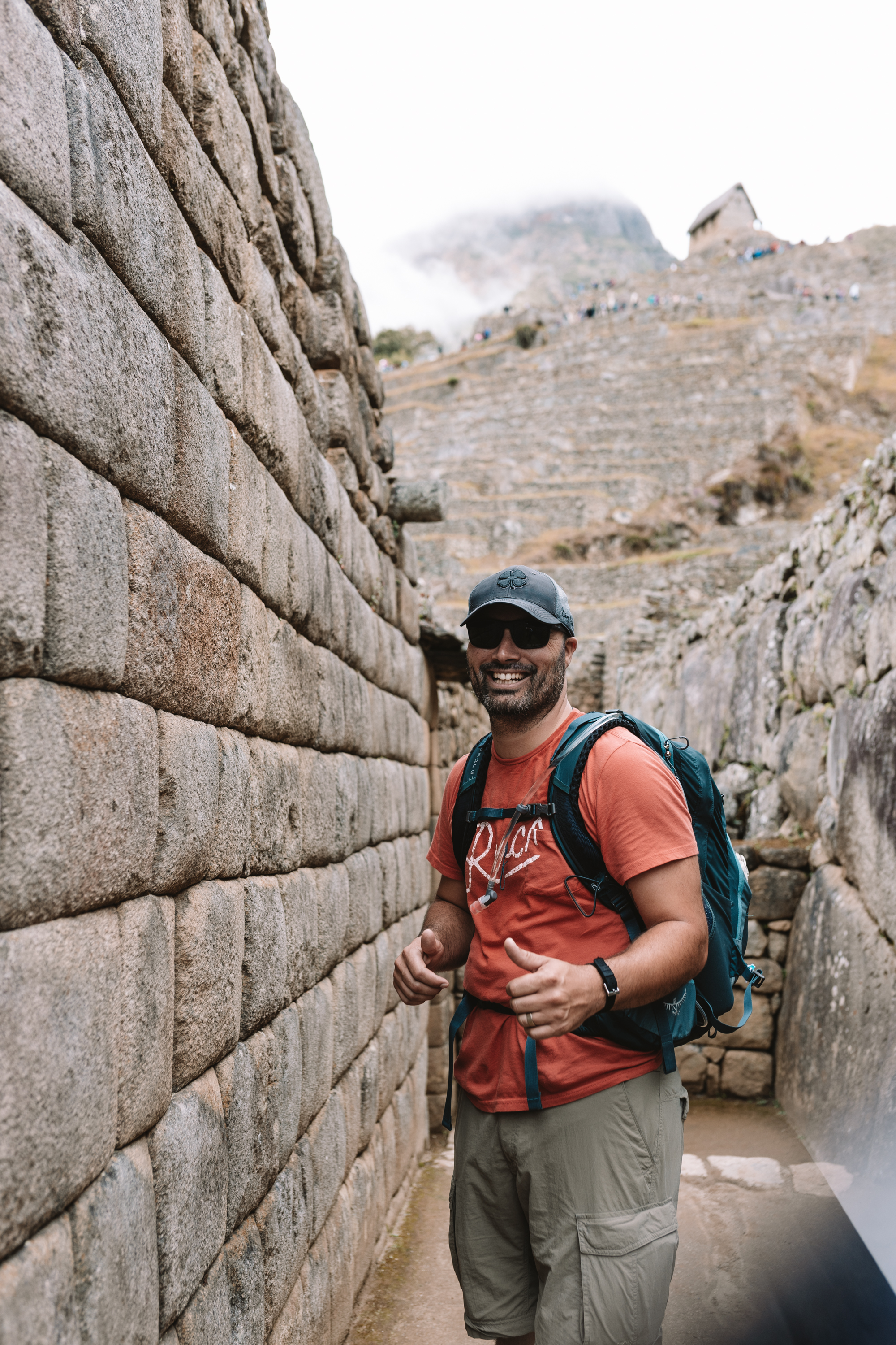 incredible architecture created by the ancient Incans at Machu Picchu #peru #magicaljourney