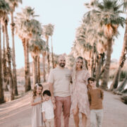 arizona family photos #familyphotos #palmtrees