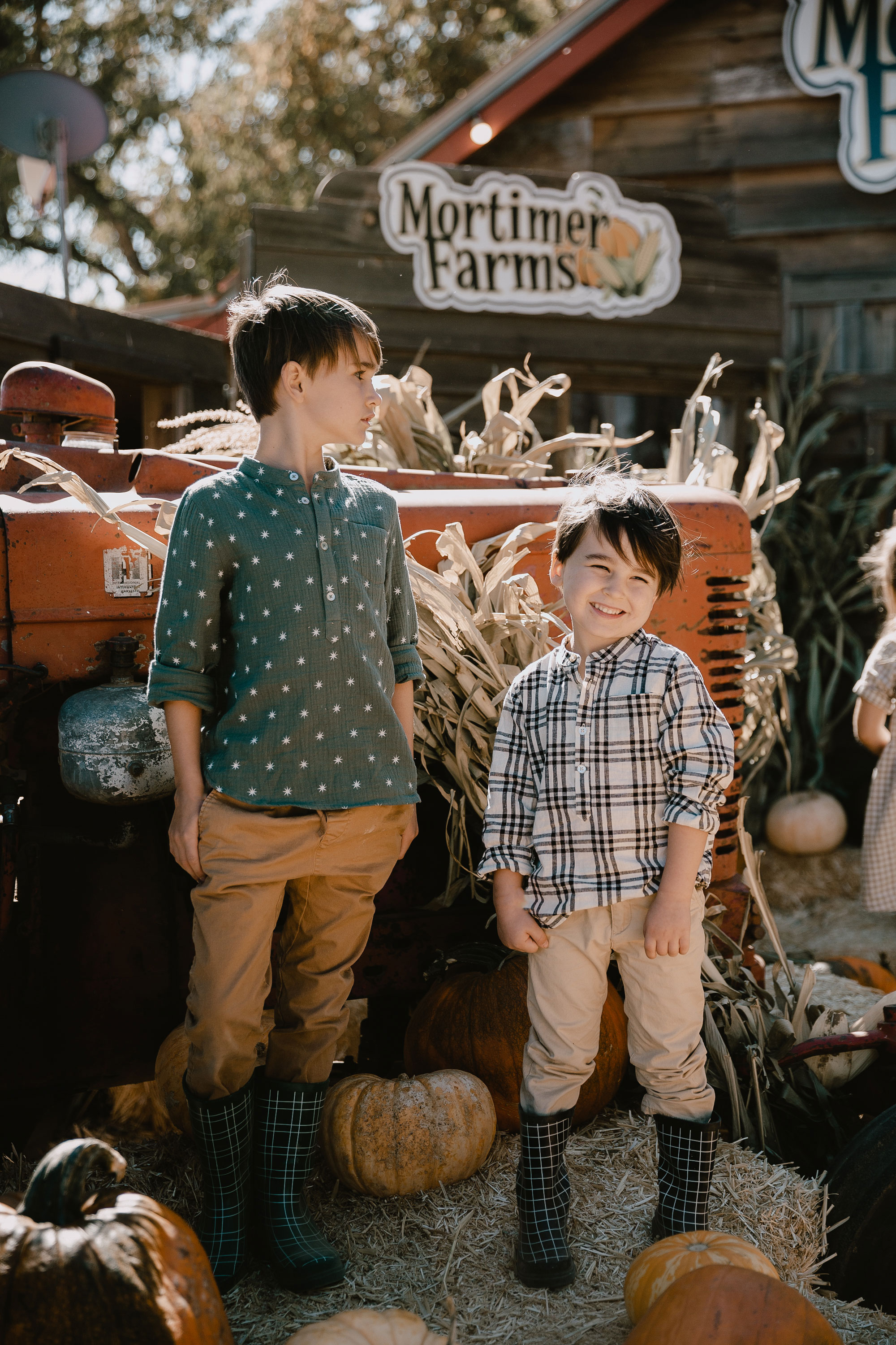 my handsome boy! dressed cute and comfortable for the pumpkin patch. #ryleeandcre #bohemianmama #boma #fallfun