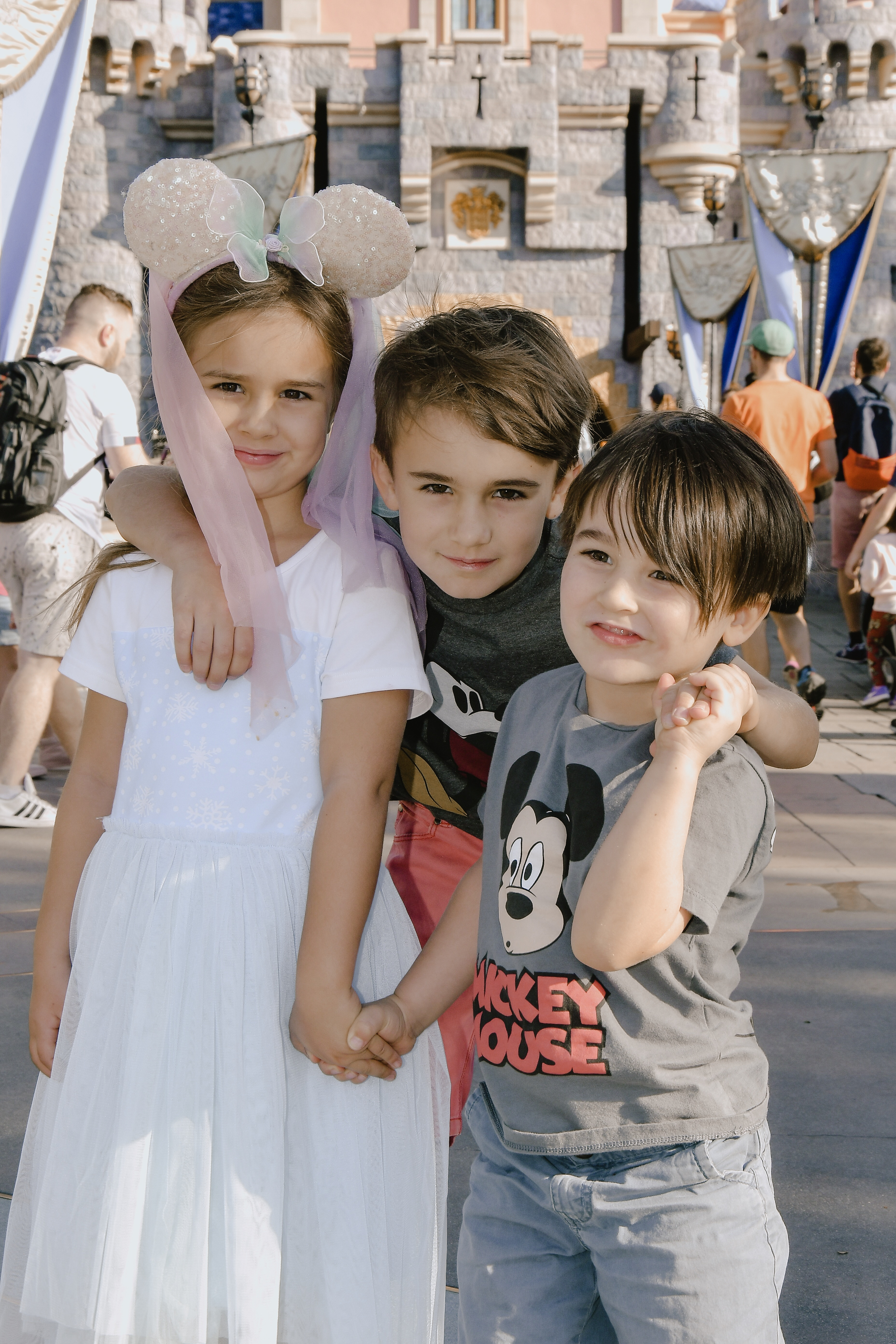 my favorite disney fans #siblinglove #disneylove #disneyland