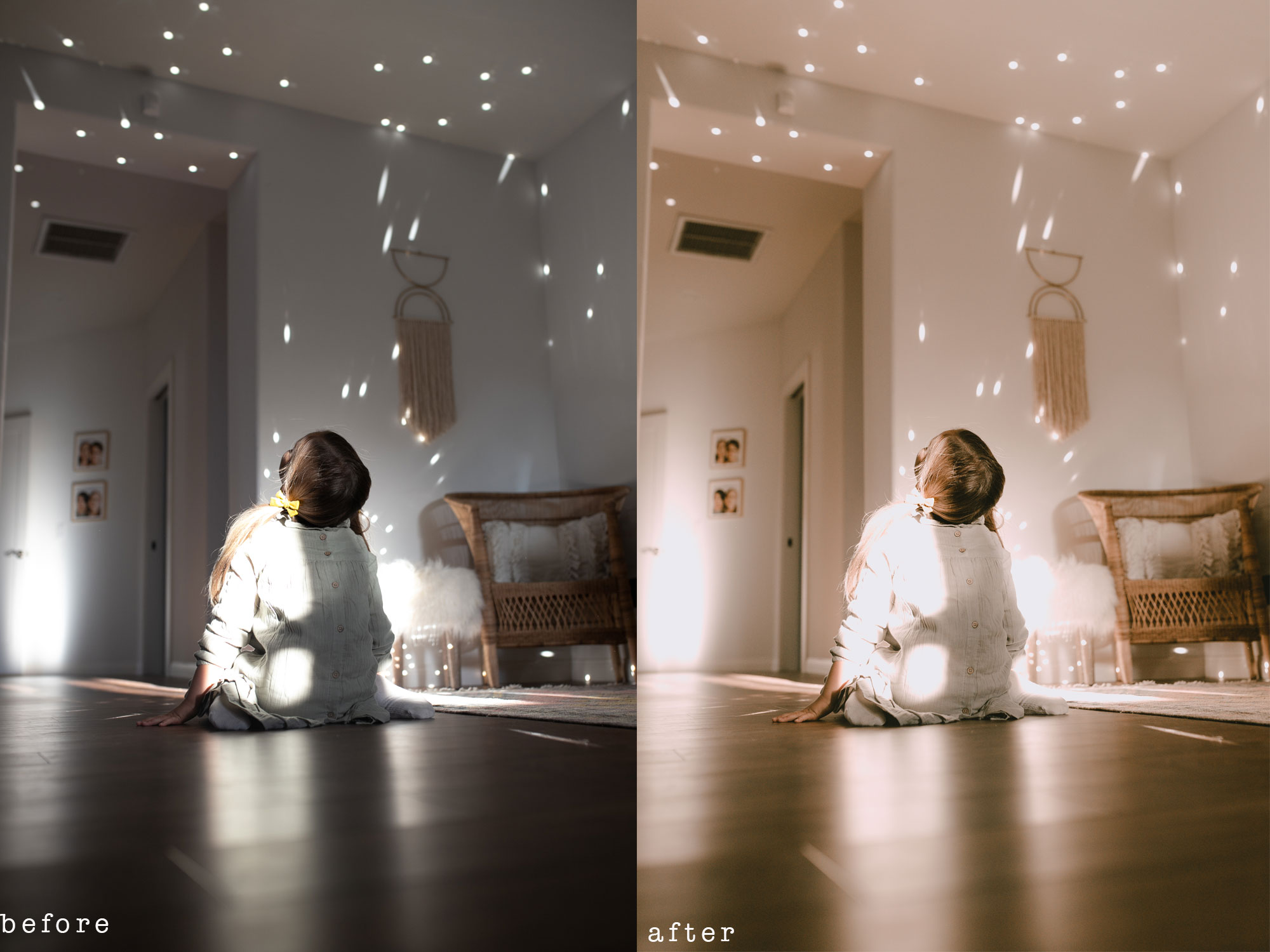 new presets from the lovedesignedlife #theldlpresets #lightroompresets #home #childhood #discoball #photoediting