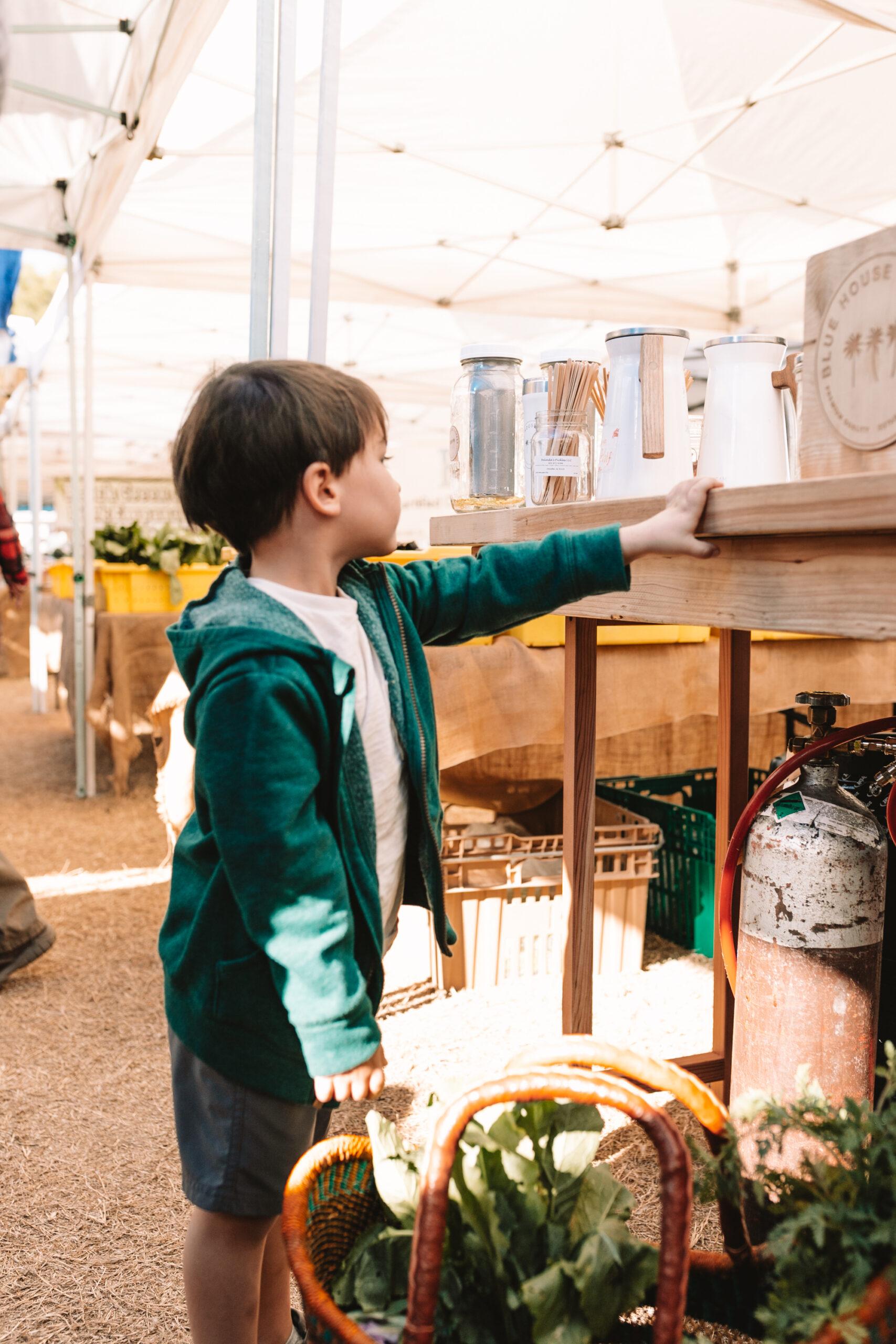 exploring farmers markets in arizona #thelovedesignedlife #farmersmarket #fun