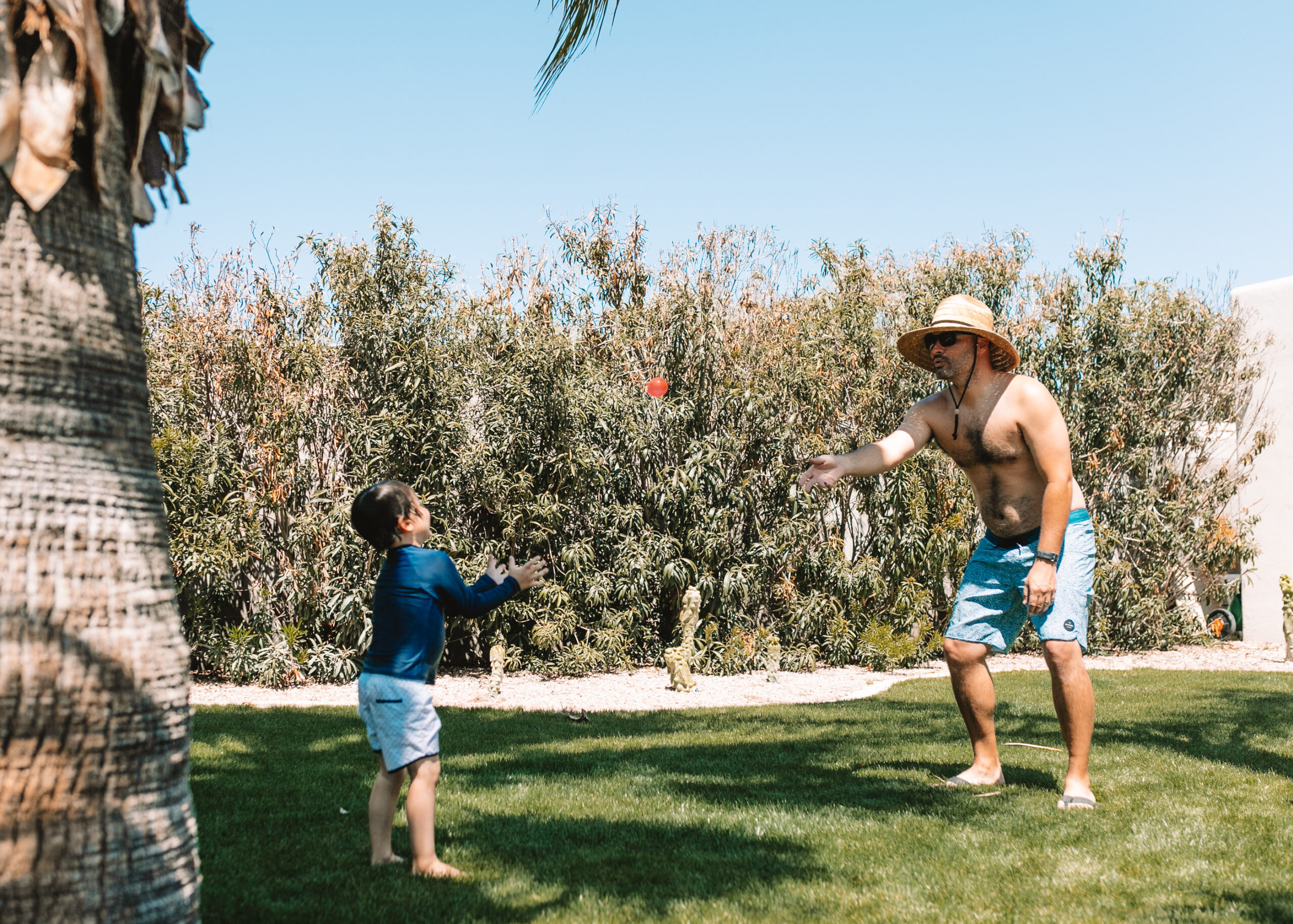 find a partner and try a water balloon toss! #backyardwaterplay #funinthesun #quarantinelife
