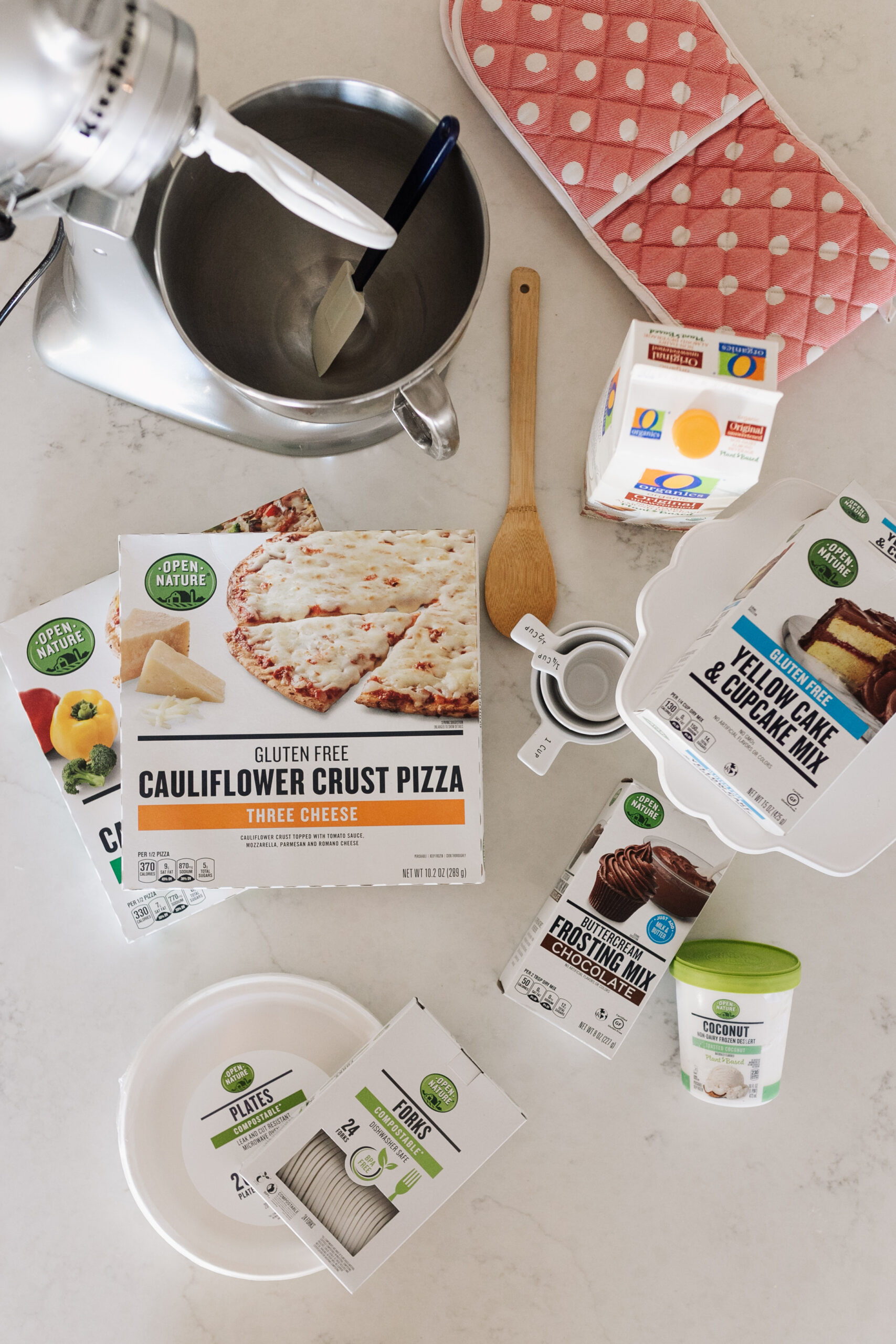 all the ingredients for a tasty, gluten and dairy free meal, right from our local Safeway! @safeway #safeway #albertsons #safewaypartner