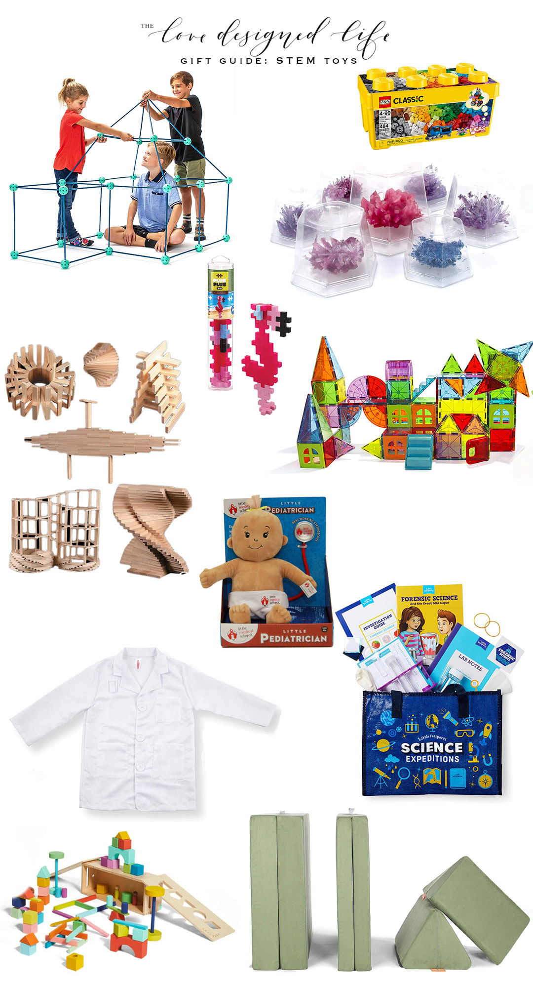a round up of our favorite STEM toys this holiday season. #theldlgiftguide #giftguide #STEM #STEMtoys