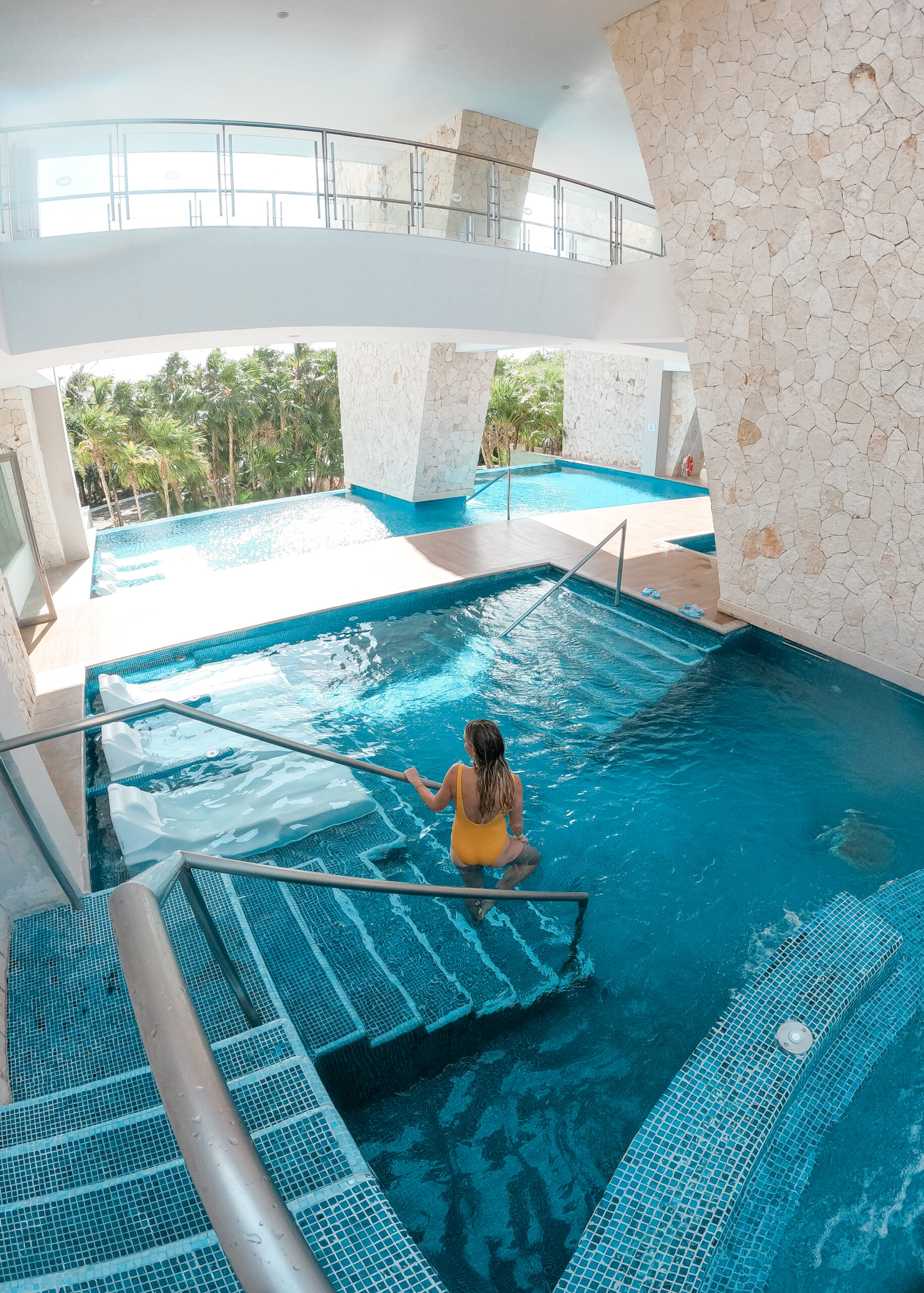 the largest spa in the riviera maya at Grand Sirenis #spaday #visitmexico #mexicoretreat