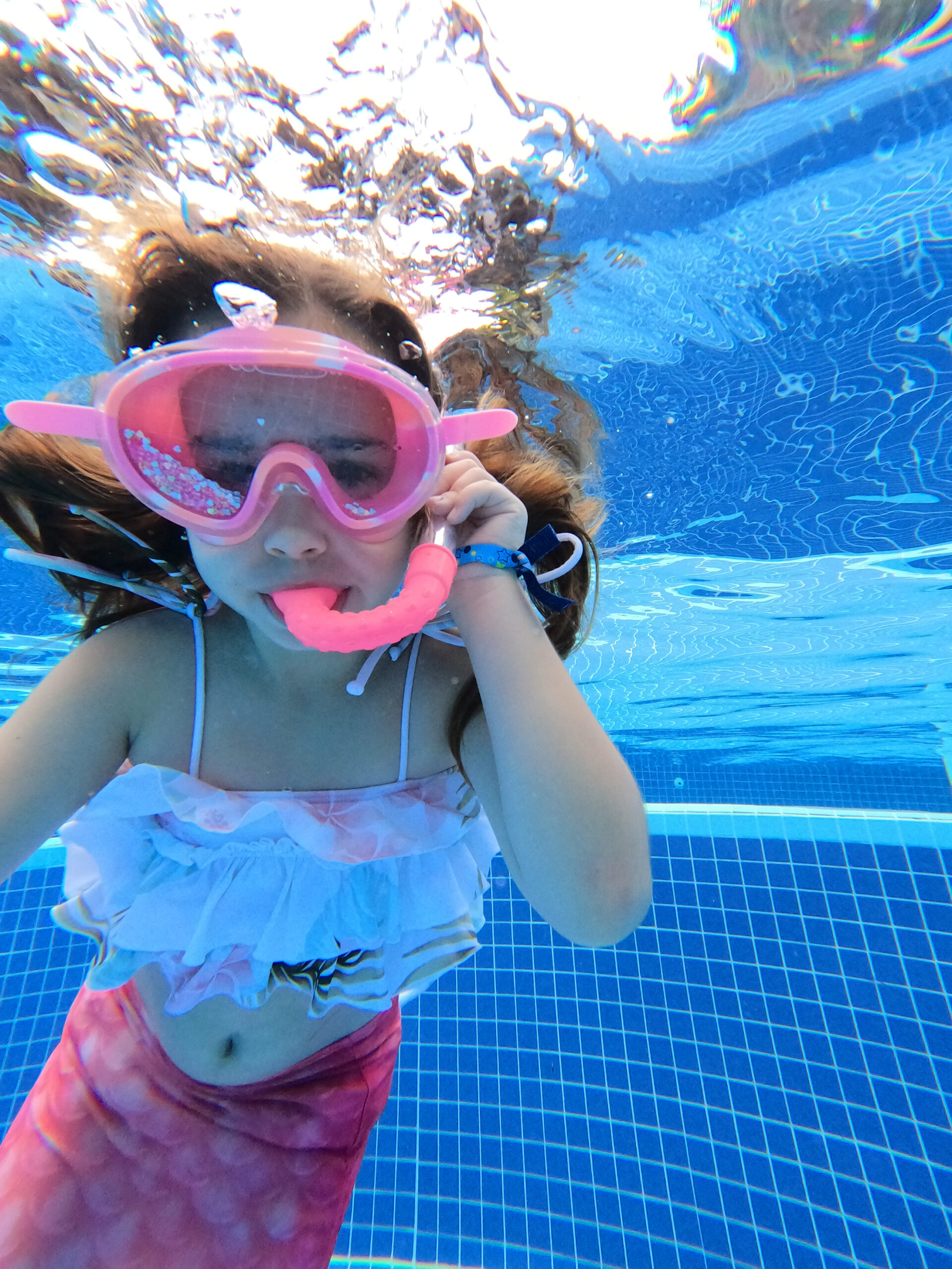 underwater swimming with my mermaid girl in mexico #mermaid #grandsirenesrivieramaya