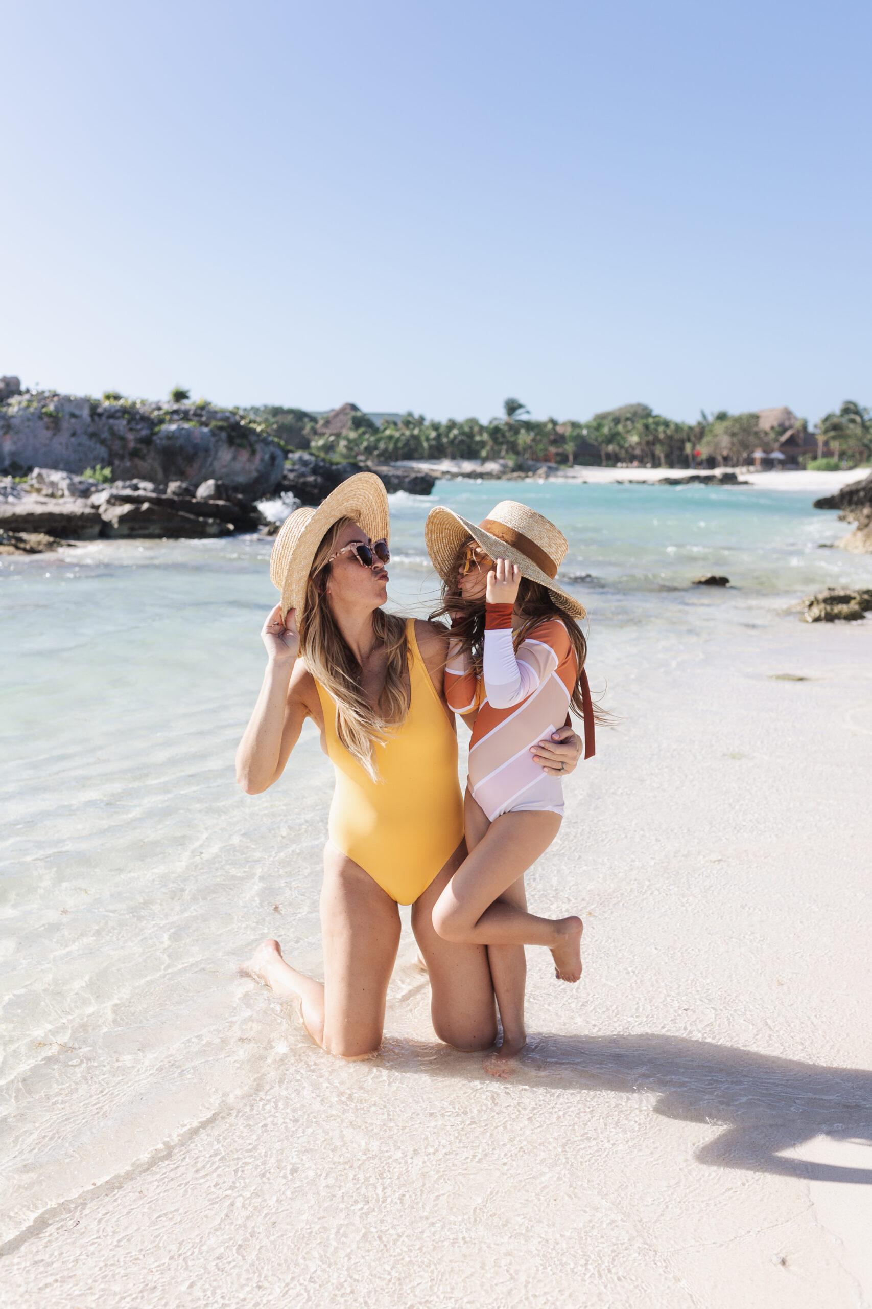 beachside all day every day in the riviera maya! #thelovedesignedlife #theldltravels #beach #mexico #familytravel