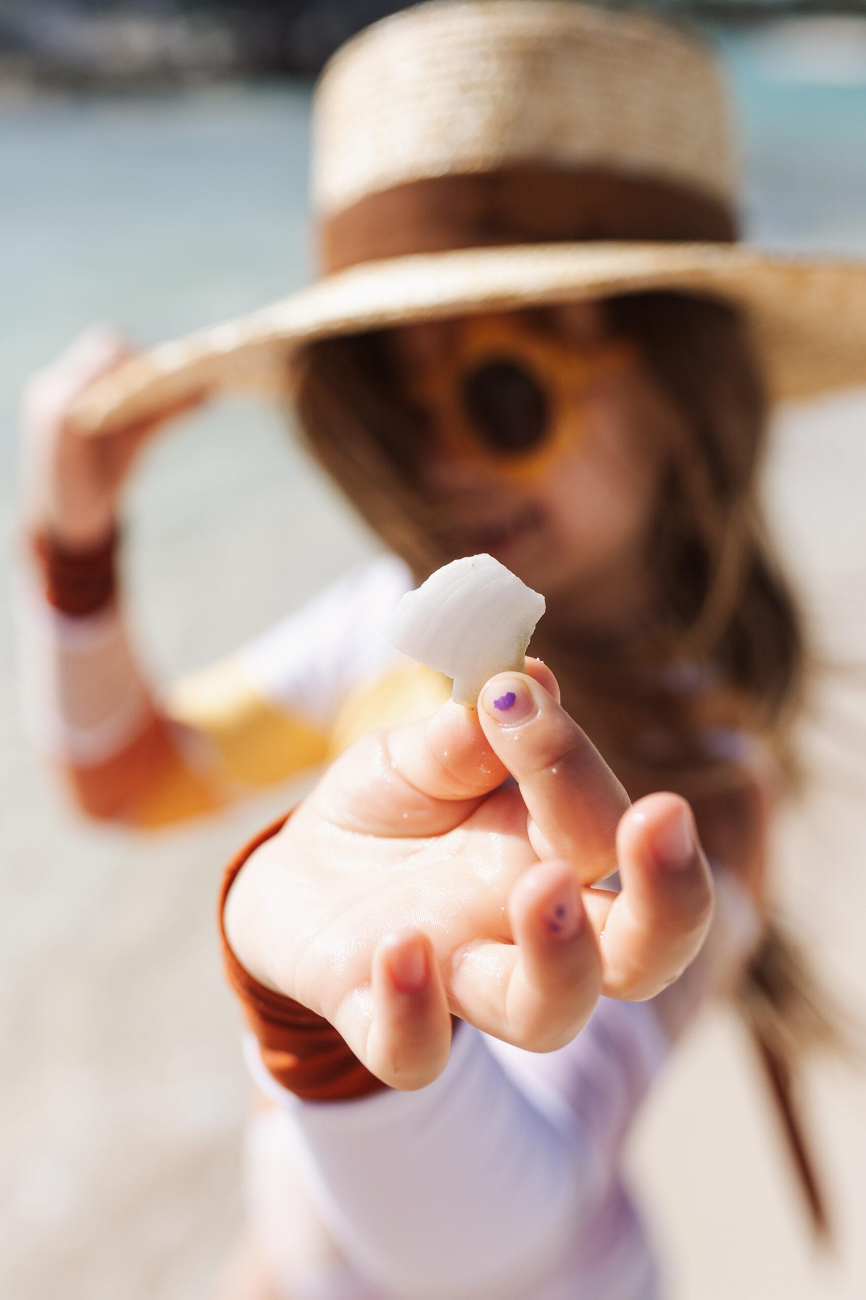 she sells seashells by the seashore #seashells #theldltravles #travelwithkids #beachkids