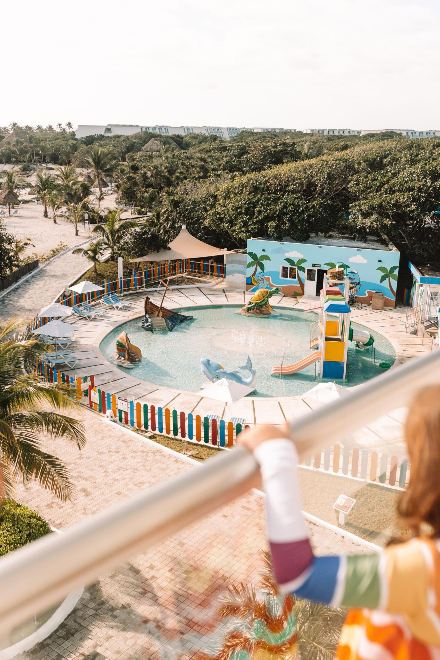 the kids club at the Grand Sirenis Riviera Maya #visitmexico #mexico #rivieramaya #kidsclub