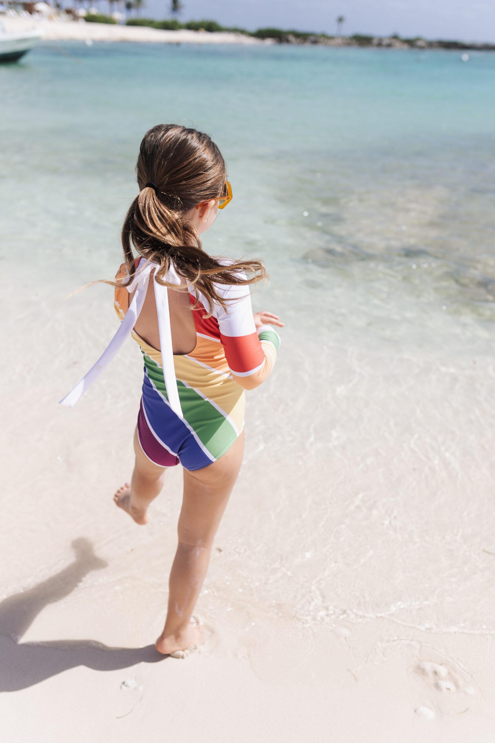 my rainbow girl by the sea #thelovedesignedlife #theldltravles #visitmexico #beachbabe