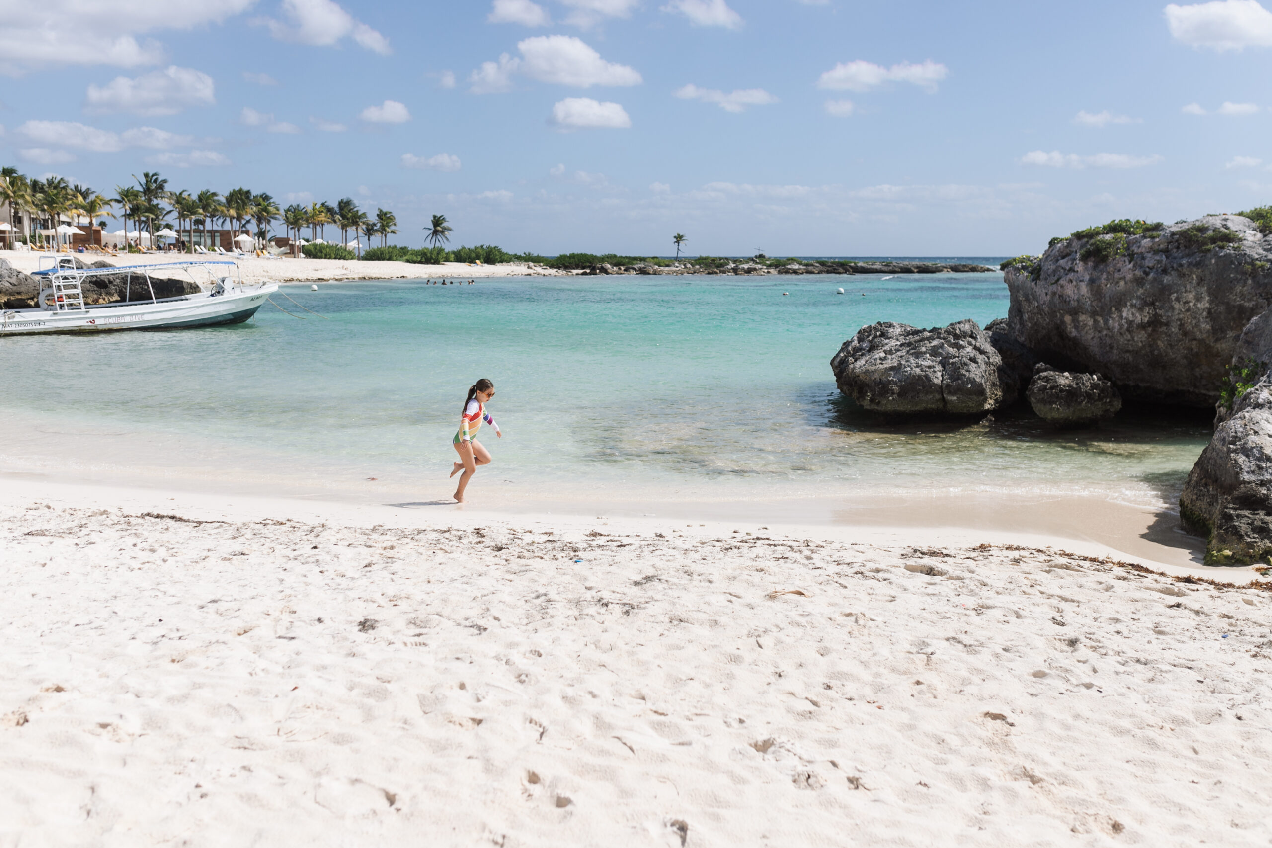 blue skies and turquoise waters at the grand sirenis riviera maya resort #theldltravles #visitmexico #mexicotravel