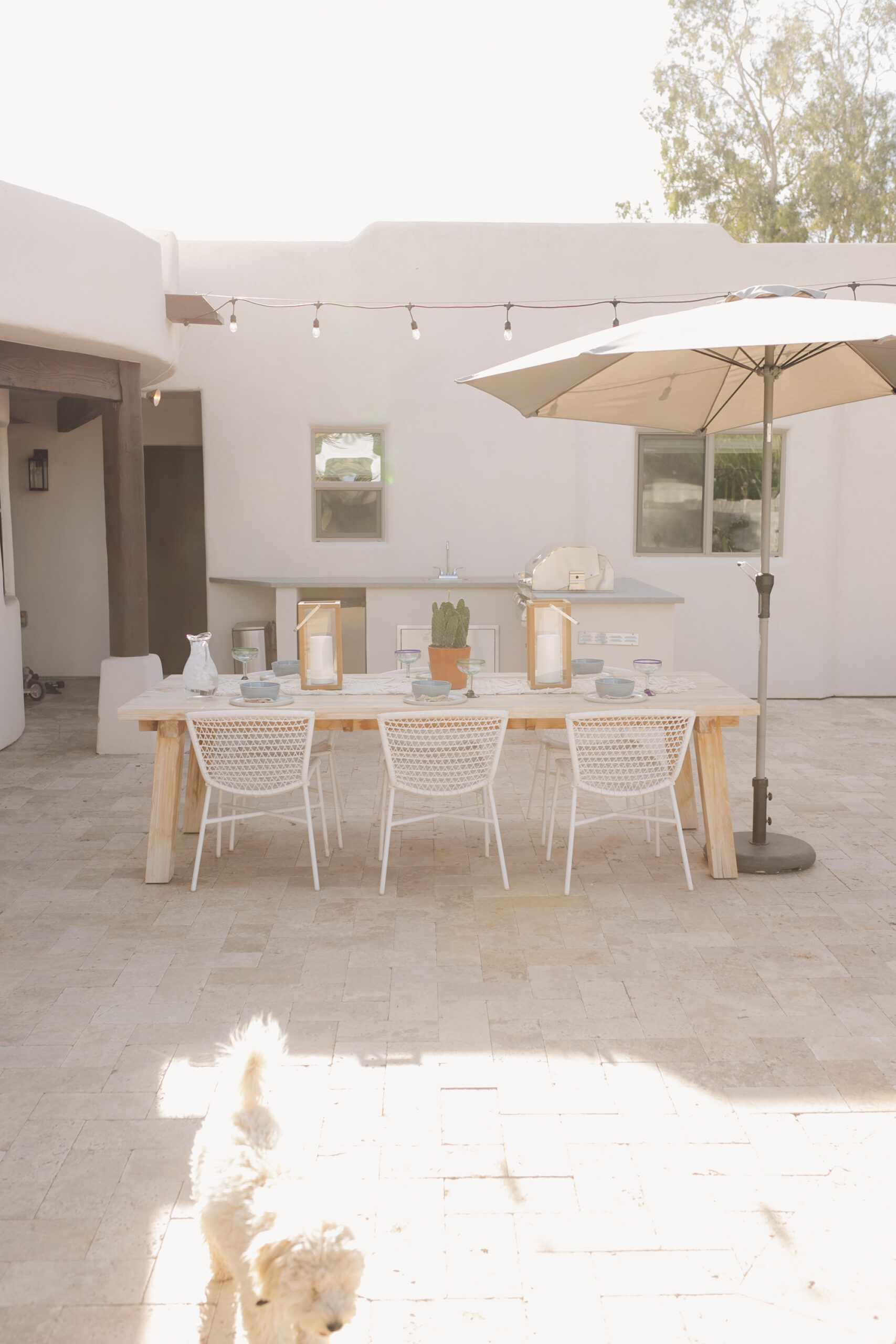 still loving our aritcle outdoor dining furniture